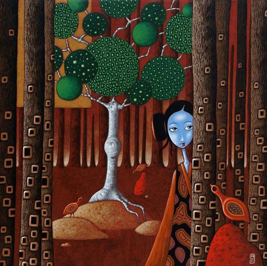 Arkamia, paintings by Arkami Shima