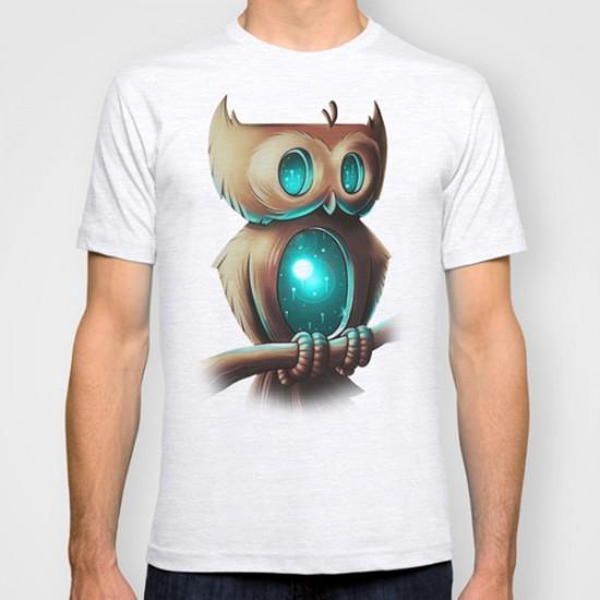 Night Owl by Chump Magic custom t-shirt design