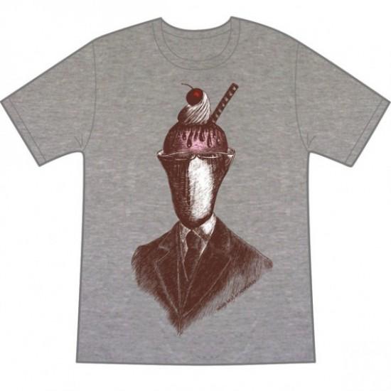 Sundae Best on Melange custom t-shirt design by vonmonkey