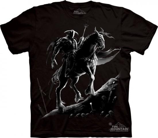 Dark Knight black shadows rider horse custom t-shirt design