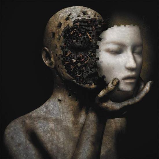 Dark digital art by David Ho