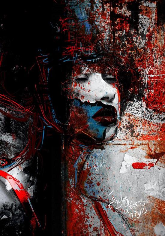 Émilie Léger, digital art