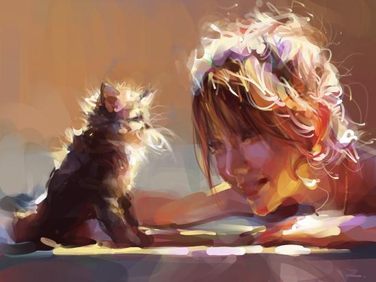 Digital art by zhuzhu