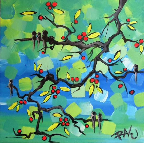 Raluca Nedelcu, paintings