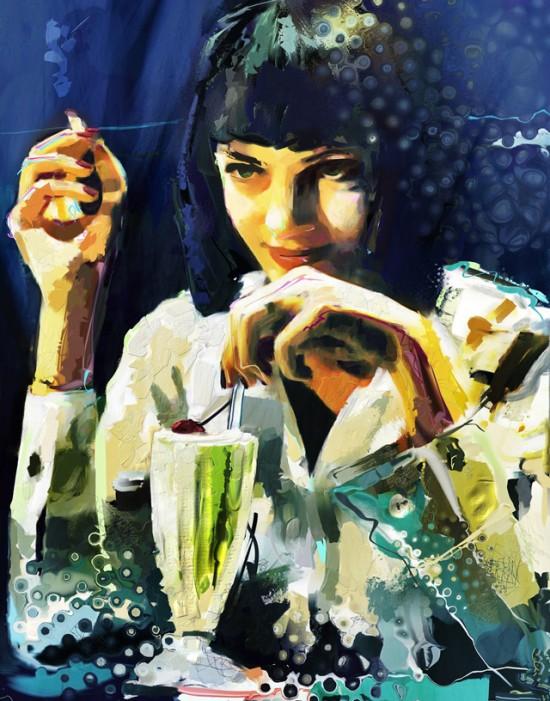 Marius Markowski, digital painting