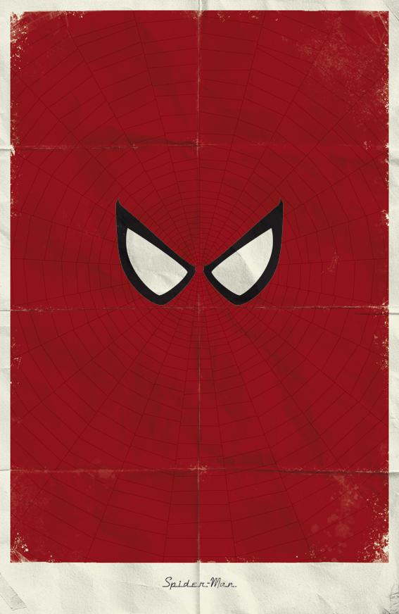 Marvel minimalist posters by Marko Manev