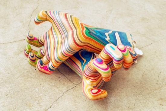 3-dimensional art by Haroshi