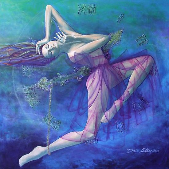 Dorina Costras, paintings