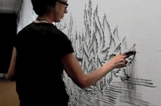 Fingerings series by realistic figure painter Judith Ann Braun