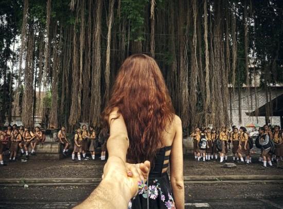 Follow Me To, photography by Murad Osmann