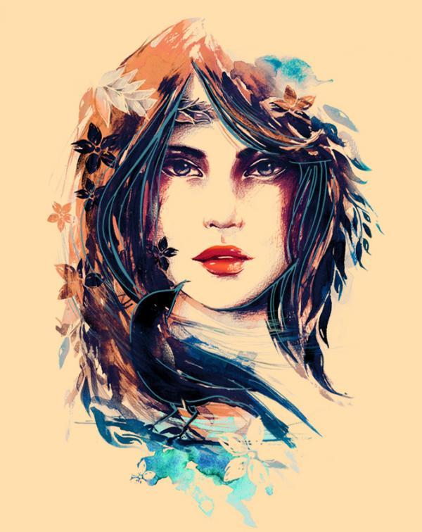 Nanda Correa, illustration