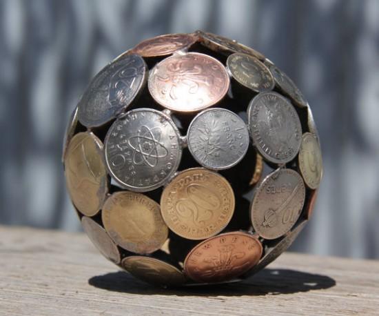 Unique hand made balls, bowls and sculptures