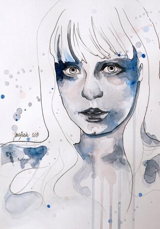 Jane Beata, paintings