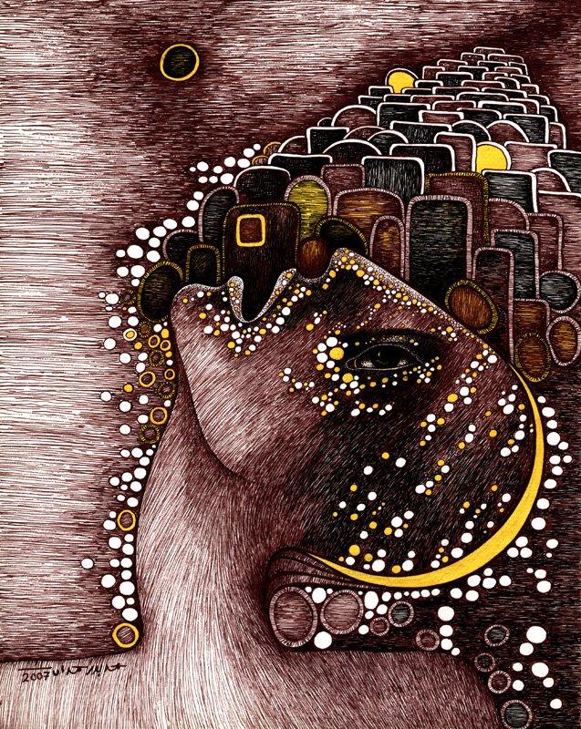 Mohammad Bader Hamdan, paintings and drawings
