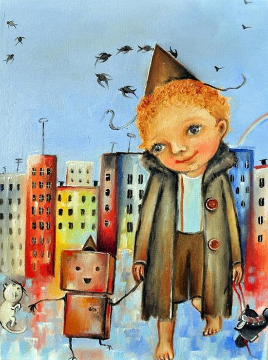 Monica Blatton, paintings