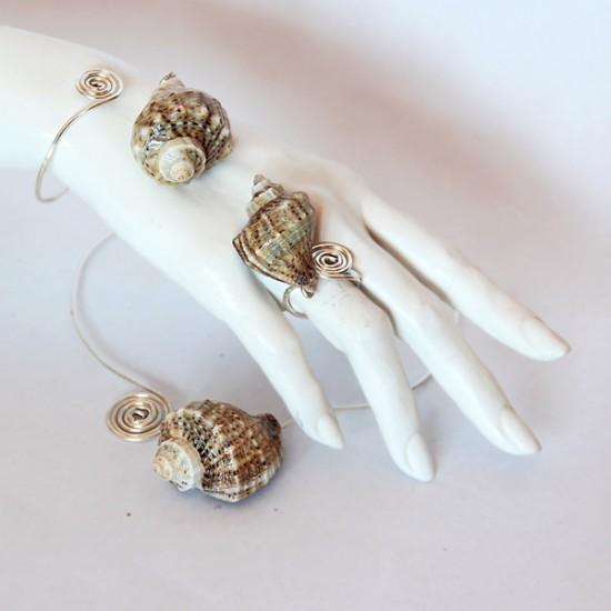 Sea Foam Collection, jewelry design by Gabriela Maria Pascenco
