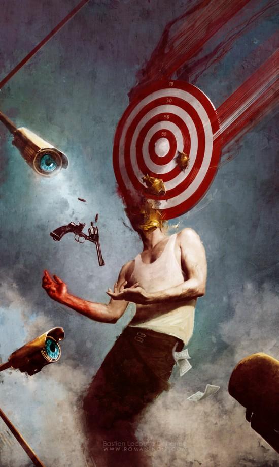 Cyberpunk and dark fantasy by Bastien Lecouffe Deharme