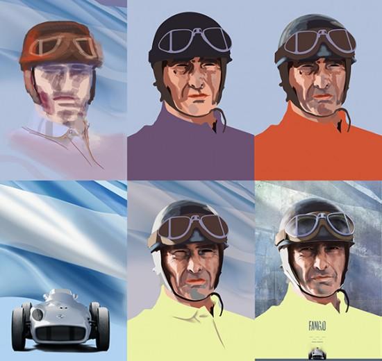 F1 portraits by Piotr Buczkowski