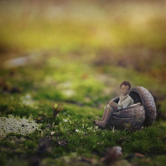 Incredible surreal self-portraits by Zev aka fiddle oak