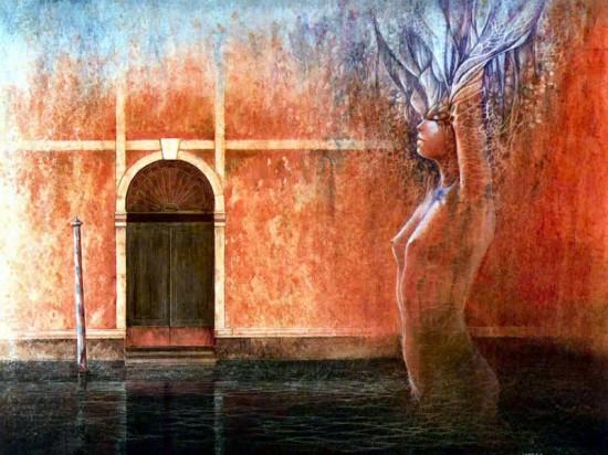 Jose Correa, painting