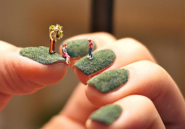 Nail art by Alice Bartlett