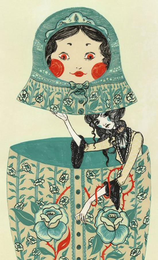 Raquel Aparicio, illustration