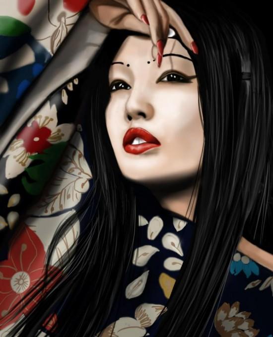 Digital art by Gaelle Lascaux