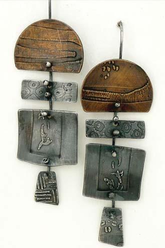 Earrings designs by Patti Wells