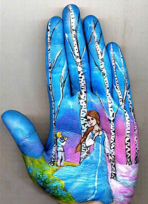 Hands Paintings by Svetlana Kolosova