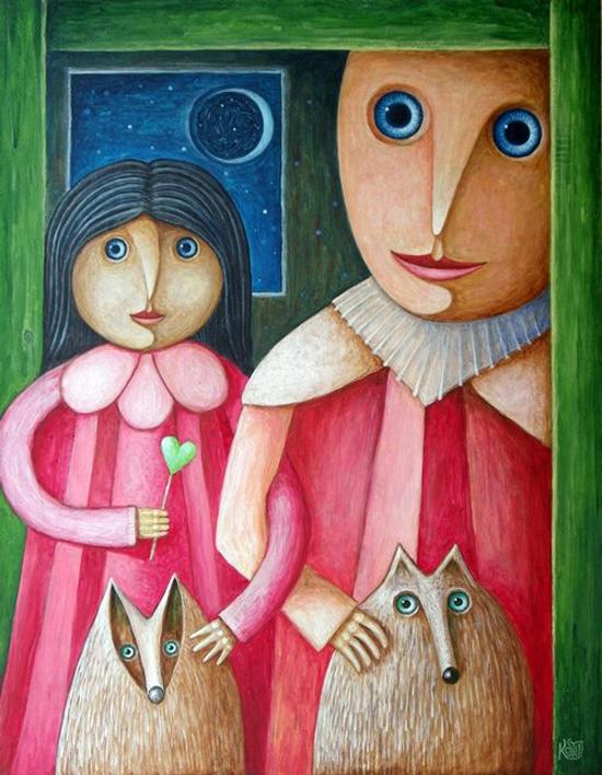 Leszek Kostuj, paintings