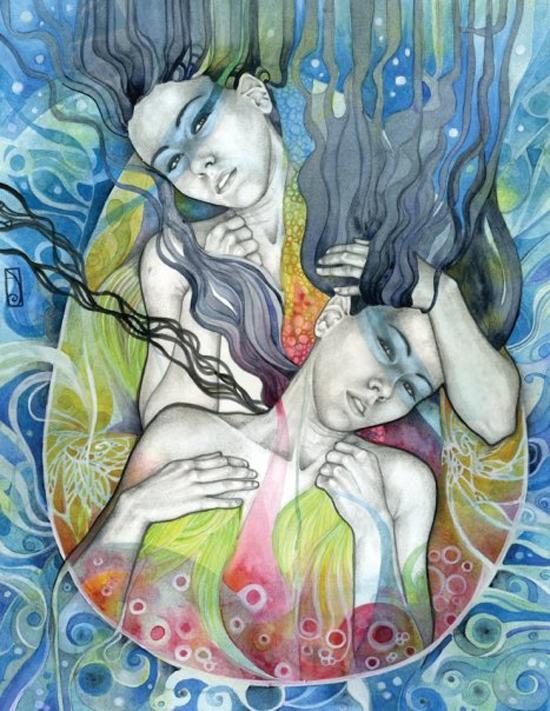 Patricia Ariel, illustration