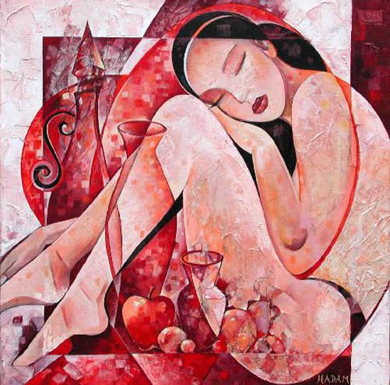 Ute Hadam, paintings