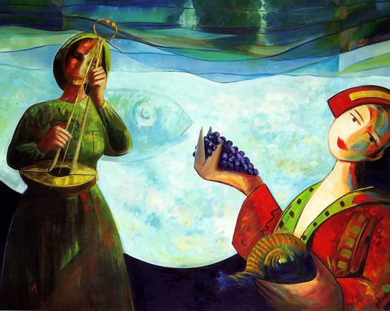 Cesar Prada, paintings