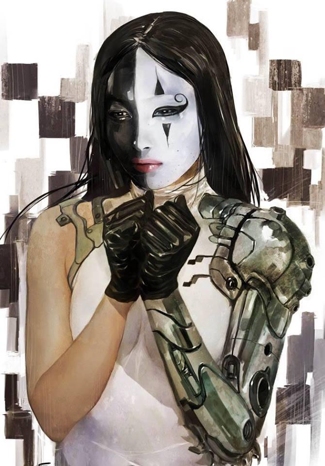 Digital painting by Daniel Vendrell Oduber