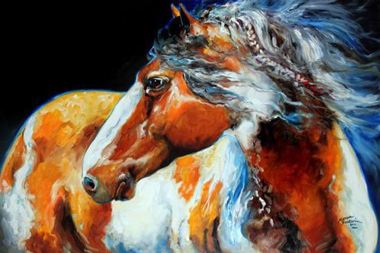 Marcia Baldwin, paintings