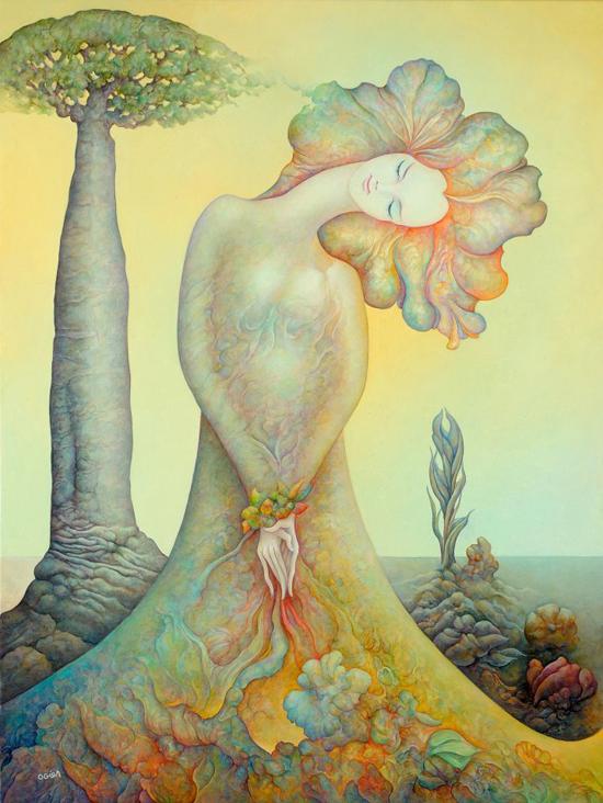 Michel Ogier, paintings
