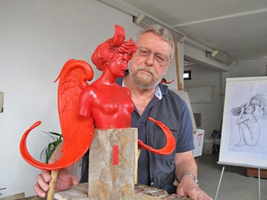 Michael Parkes, sculpture