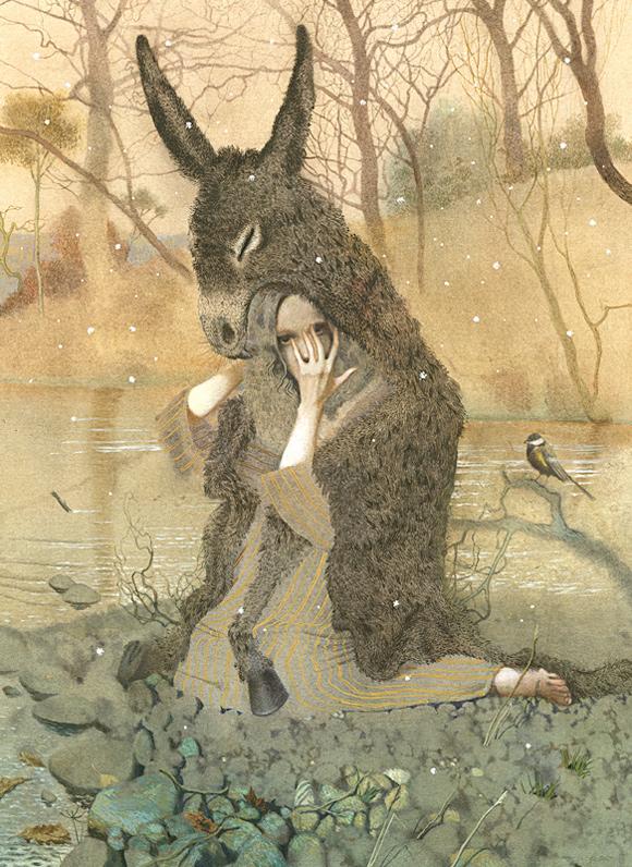 Dark Fairy Tales, illustration by Nadezhda Illarionova