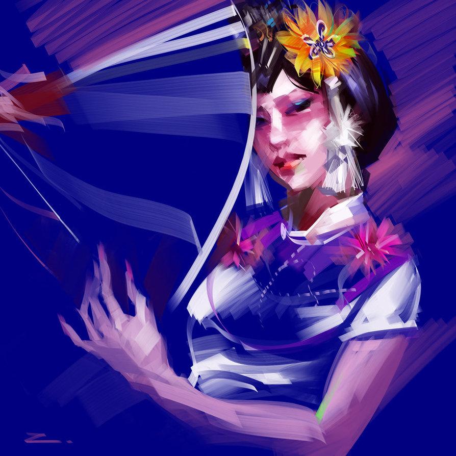 Digital Art by Zhu Haibo aka zhuzhu
