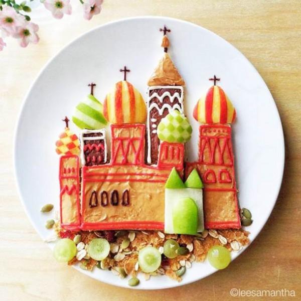 Eatzybitzy the creative food art by samantha lee ego for Creation cuisine
