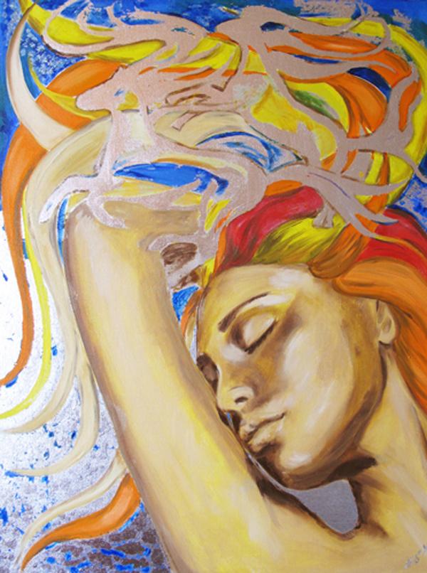Natalya Simonova, paintings