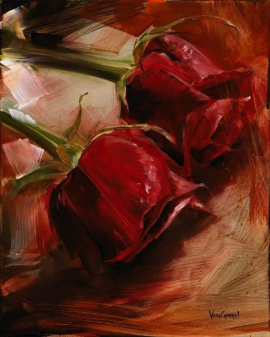 Paul Van Ginkel, paintings