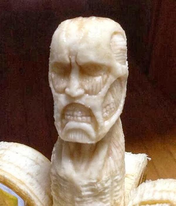 Amazing banana sculptures by Keisuke Yamada
