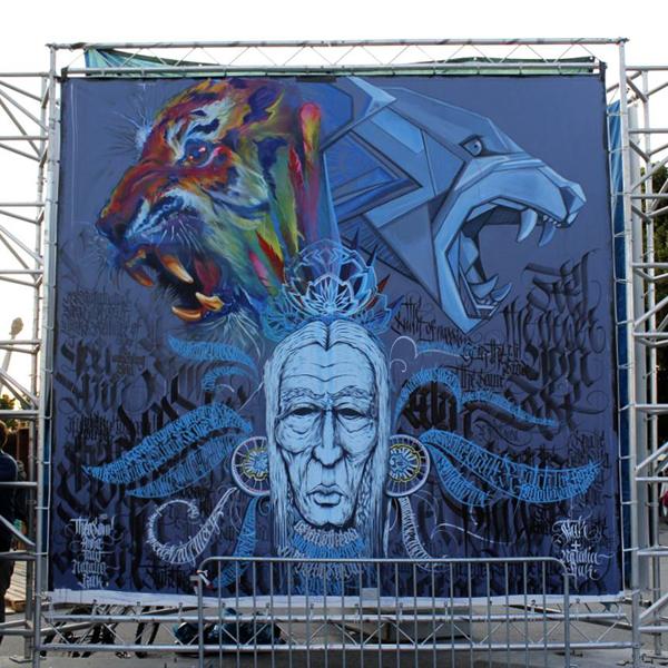 Amazing street art by Natalia Rak