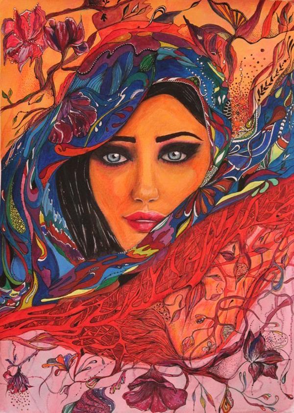 Drawings by Otilia Elena Grumazescu