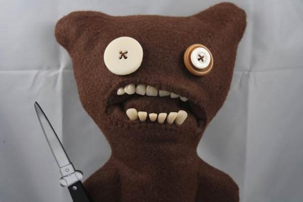 Fuggler – Creepy plushies with (too) realistic teeth
