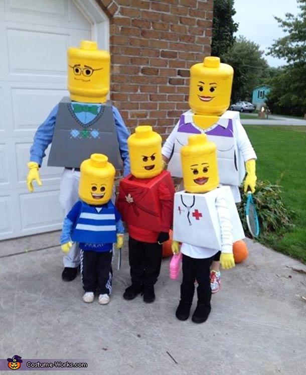 Lego Family Costume