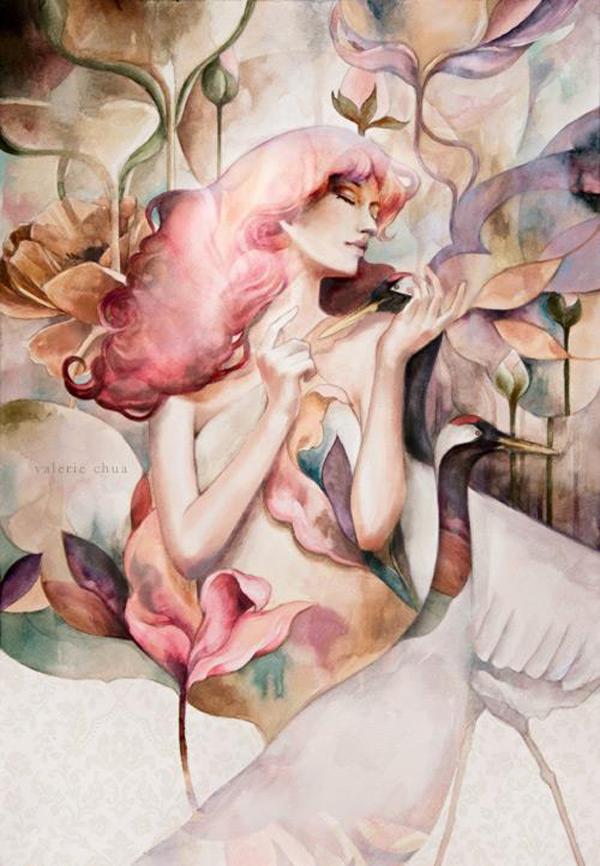 Valerie Ann Chua, illustration
