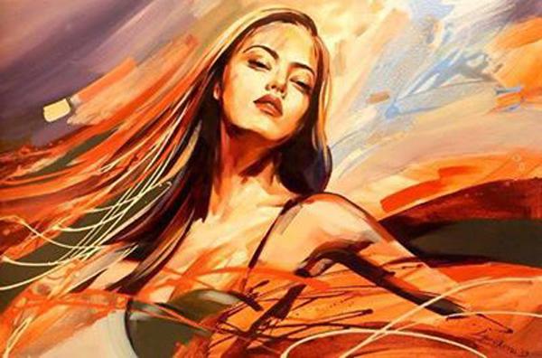 Galya Bukova, paintings
