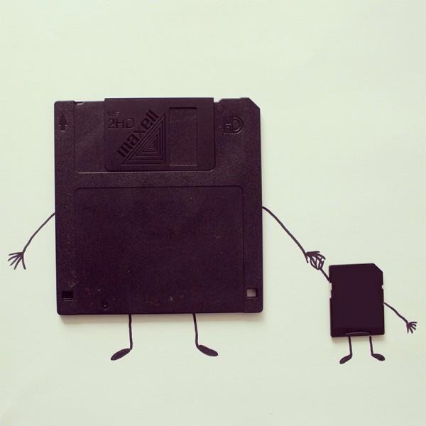 Instagram Experiments, illustration by Javier Pérez